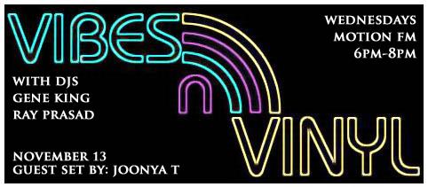 VIBES & VINYL NOV. 13