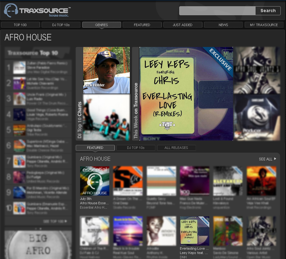 TRAXSOURCE DNH RELEASE