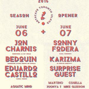 SUMMERDAZE WEEKEND w/ KARIZMA & SONNY FODERA @ TORONTO ISLAND [JUNE 7. 2015] (Toronto, CA)