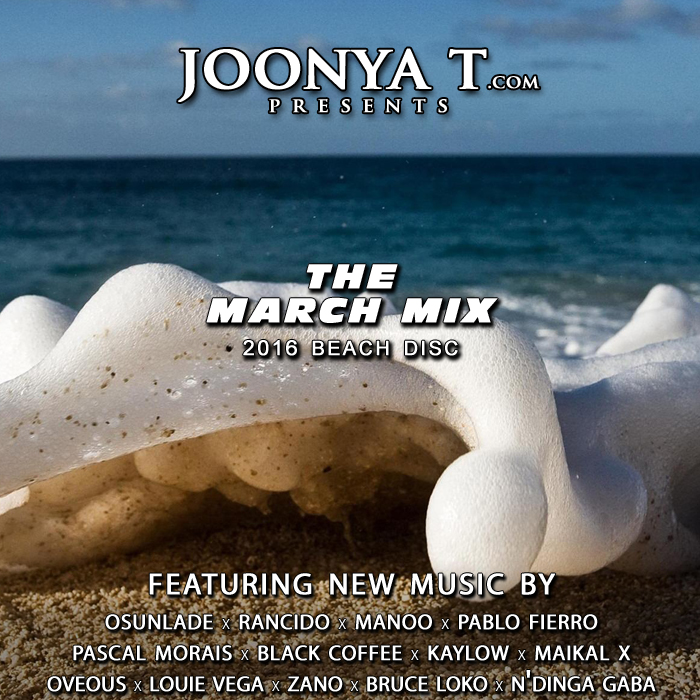 2016 March mix beach