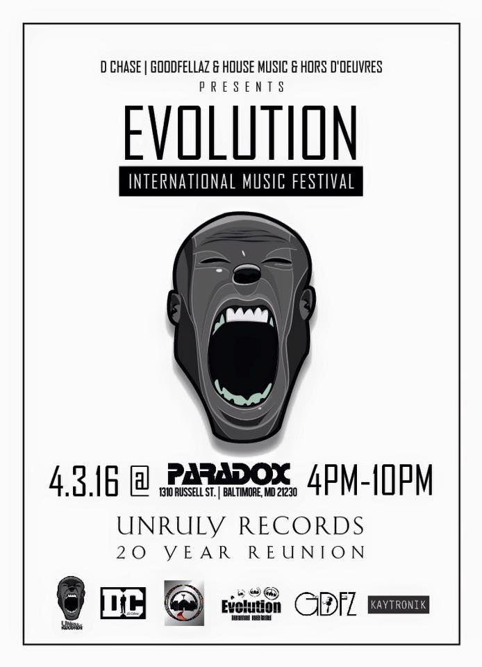 EVOLUTION FLYER FRONT