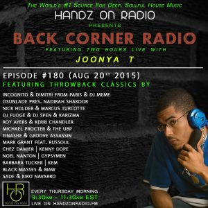 BACK CORNER RADIO [EPISODE #180] #TBT (AUG 20. 2015)