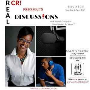 @RealChicksRock1: REAL DISCUSSIONS w/ JOONYA T