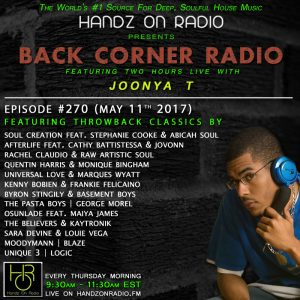 BACK CORNER RADIO [EPISODE #270] #ThrowBackThursday [MAY 11. 2017]