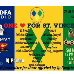 ONE LOVE FOR ST. VINCENT (SAT. MAY. 15. 2021) [TWITCH.TV]