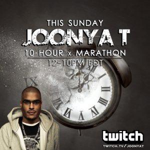 JOONYA T 10 HOUR MARATHON